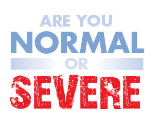 Are you a normal driver? Or severe?